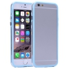 Bumper Iphone 6 plus Transparent et Bleu