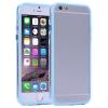 Bumper Iphone 6 plus Transparent et Bleu