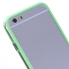 Bumper Iphone 6 plus Transparent et Vert