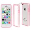 Bumper Iphone 5C Transparent et Rose