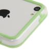 Bumper Iphone 5C Transparent et Vert