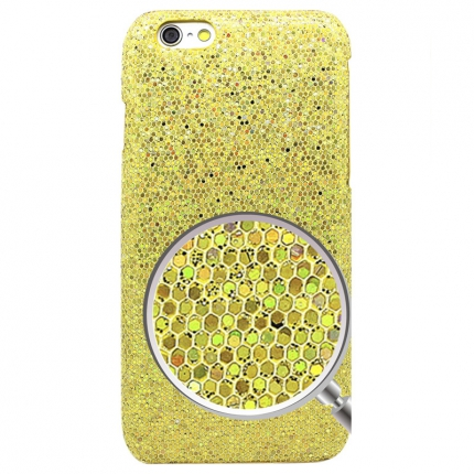 Coque Iphone 6 Strass Or