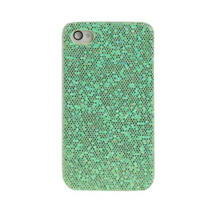 Coque Iphone 4 / 4S Strass Vert