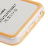 Bumper Iphone 5C Transparent et Orange