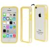 Bumper Iphone 5C Transparent et Jaune